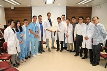 Visiting Scholar Programme: Lecture and Sharing Session with Orthopaedic Trainees